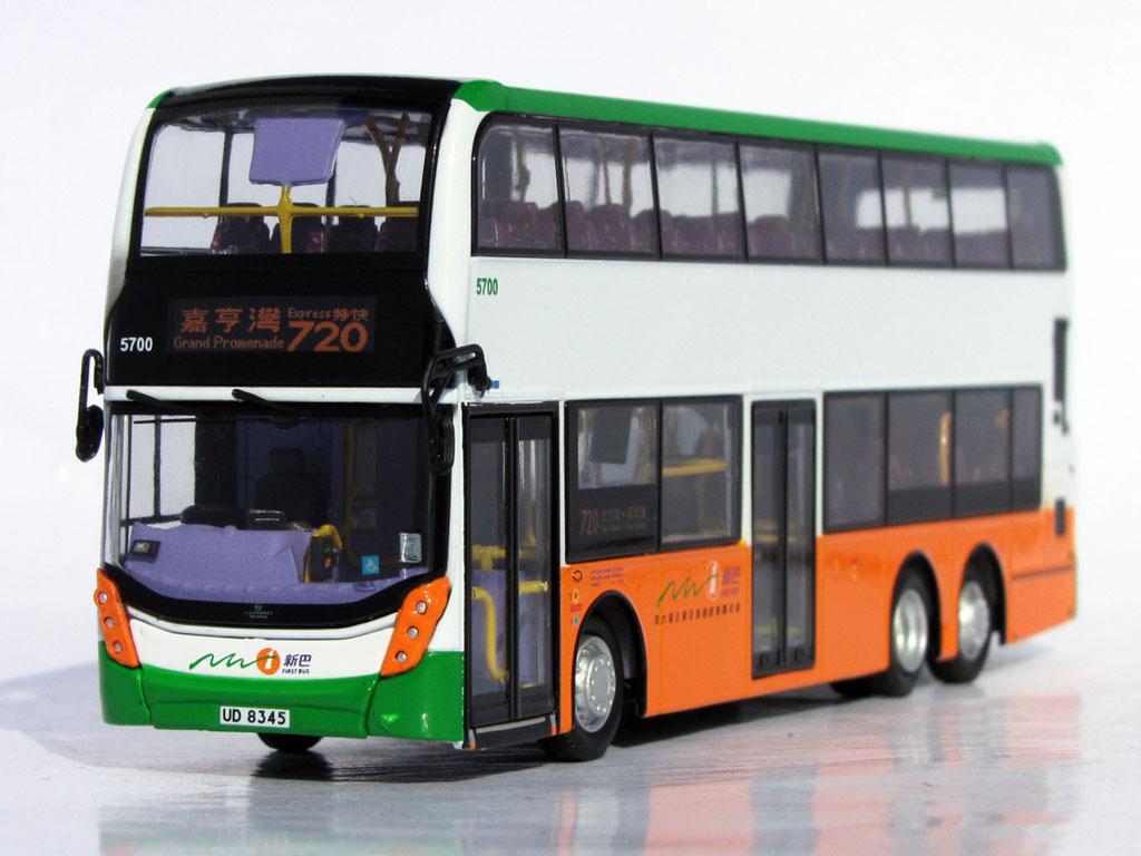 63332 20058 Alexander Dennis Facelift Enviro500