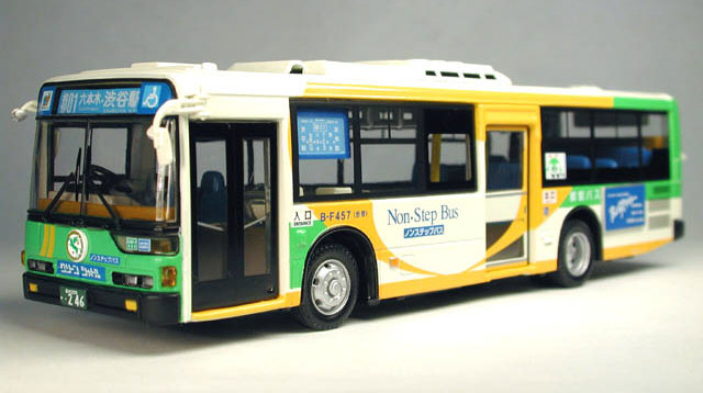 Steps For Buses : Jb mitsubishi fuso non step citybus tokyo